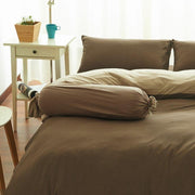 Cotton Pure™ Coyote Brown Jersey Cotton Bolster Case