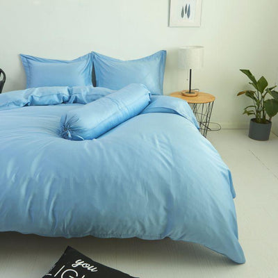 Palais Suite TENCEL™ Summer Blue Quilt Cover - Bedding Affairs