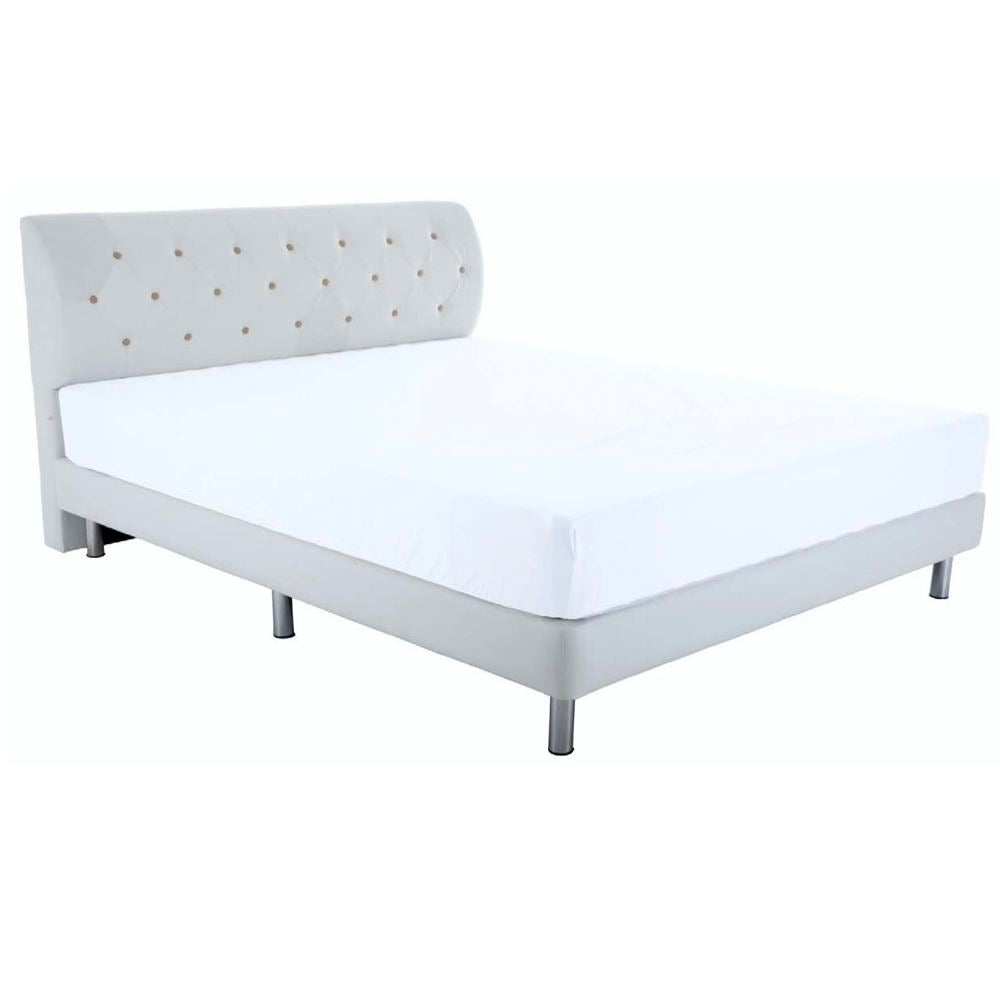 Customised Kelly Leather Bedframe - Bedding Affairs
