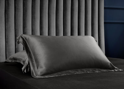 Palais Suite TENCEL™ Imperial Gray Pillow Case - Bedding Affairs