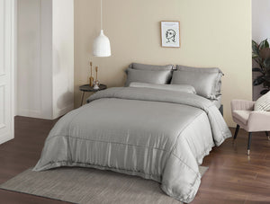 Palais Suite TENCEL™ Gilden Lined Fitted Sheet Set