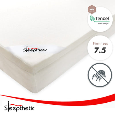 Sleepthetic™ Fitted Memory Foam Topper [7.5 Firmness / 5cm Thick] - Bedding Affairs