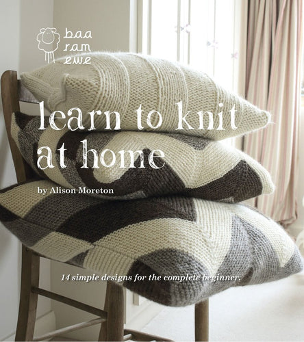 Learn to knit at home