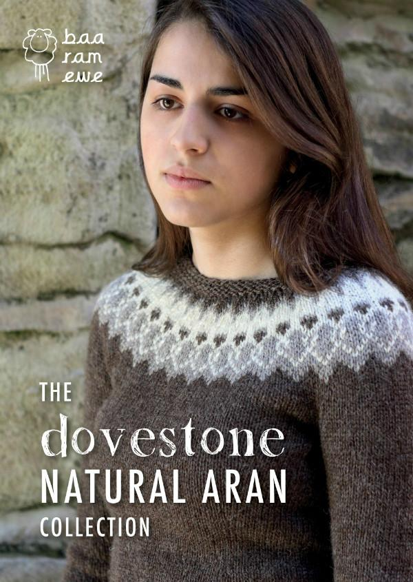 The Dovestone natural aran