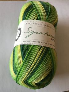 West Yorkshire Spinners Signature 4ply colour 882