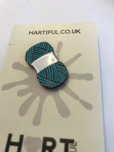 Copy of Copy of HARTIFUL badge  (ball blue)