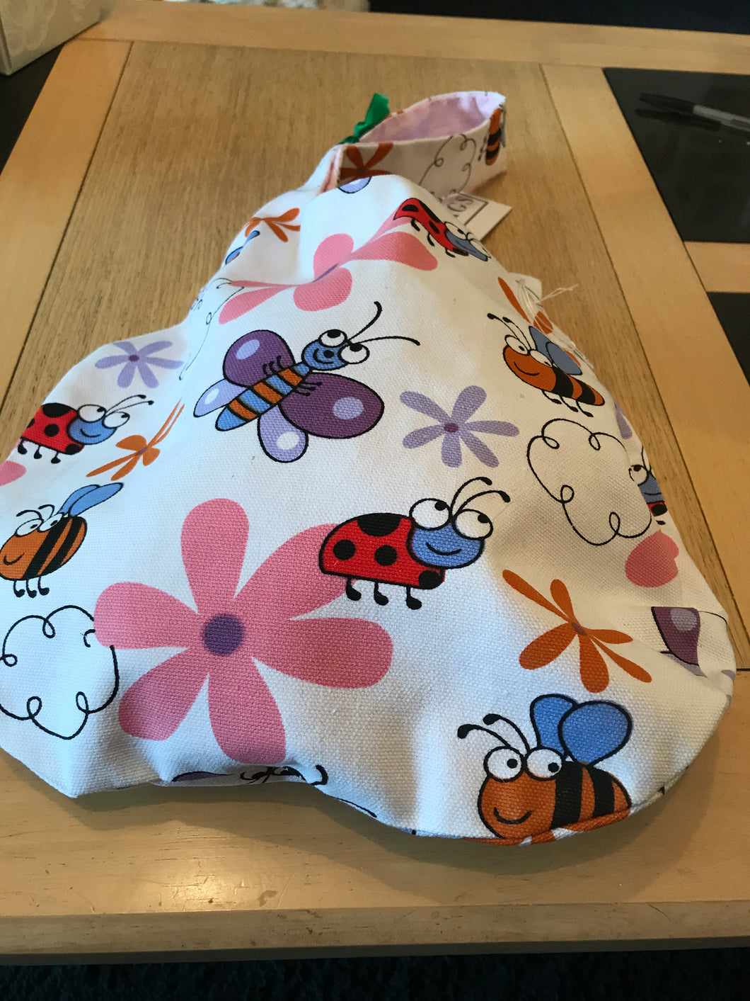 Japanese style Knot Bag by Pig Pen Slug style Bee