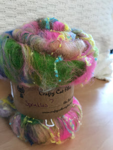 Crafty Cat Fibre Batt Sprinkles