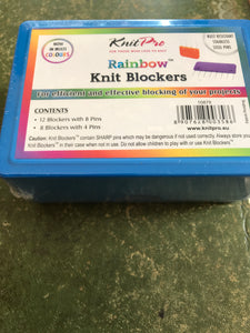 Knit Pro Rainbow Knit Blockers