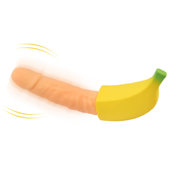 Banana Shape 7 Speed Adult Erotic G-spot Vagina Sex Toys - yuechaotoys