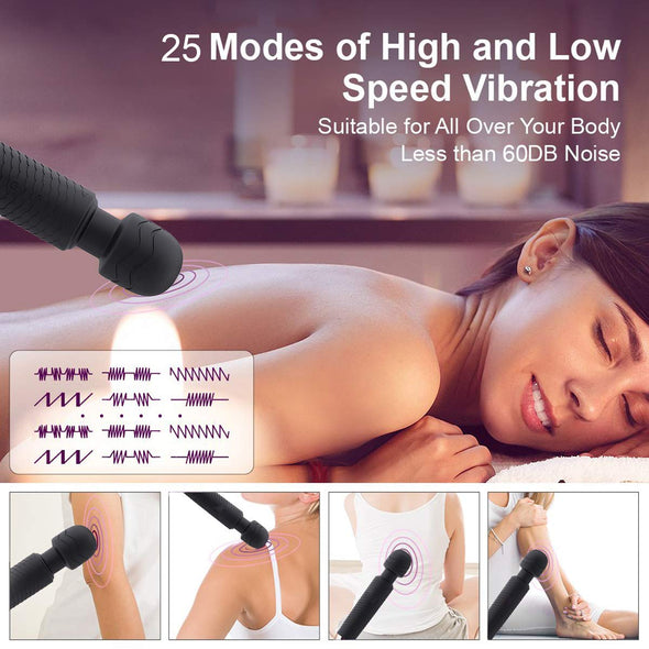 Cordless Multi Speed Wand Massager - yuechaotoys