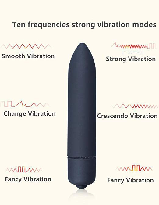 Waterproof G Spot Massager Mini Bullet Vibrators - yuechaotoys