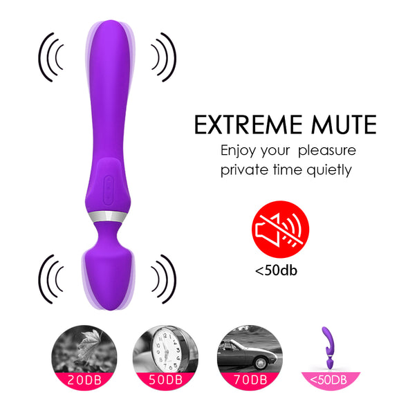 G Spot Double Head Female Vagina Massage Vibrators - yuechaotoys