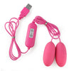 New Design Waterproof Double Love Eggs For Women - yuechaotoys