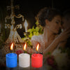 3 Colors Temperature Romantic Candle Set for Couples - yuechaotoys