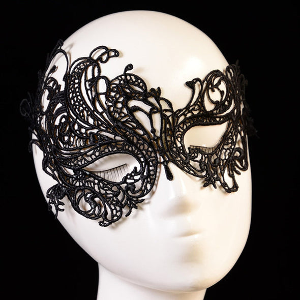 Exotic Sexy Lace Lingerie Mask - yuechaotoys