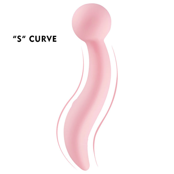 Pink Cherry 8 Speeds Erotic AV Stick Massage Wands for Women - yuechaotoys