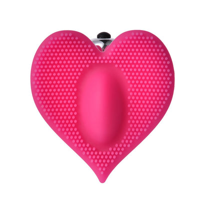 Heart-shaped Licking Clit Pussy Vibrators - yuechaotoys