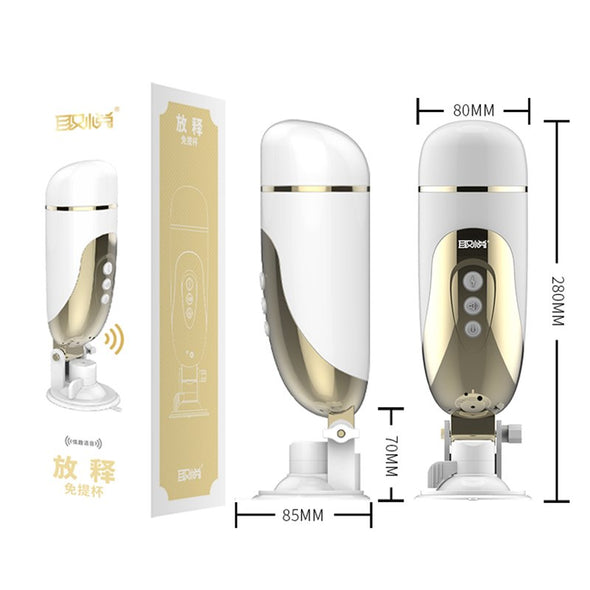 Luxury Electric Air Float Suck Male Masturbator - yuechaotoys
