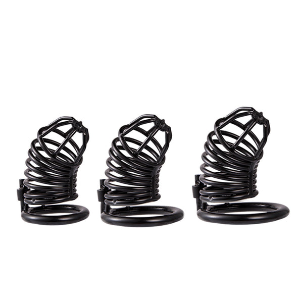 Prison Bird Male Stainless Steel Cock Cage Chastity Devices - yuechaotoys