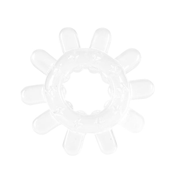 Soft Silicone Jelly Snow Cock Ring for Men - yuechaotoys