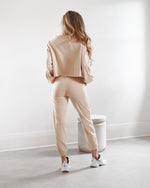 High Waisted Pants - Beige