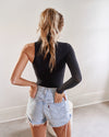 One Arm Turtle Neck Bodysuit