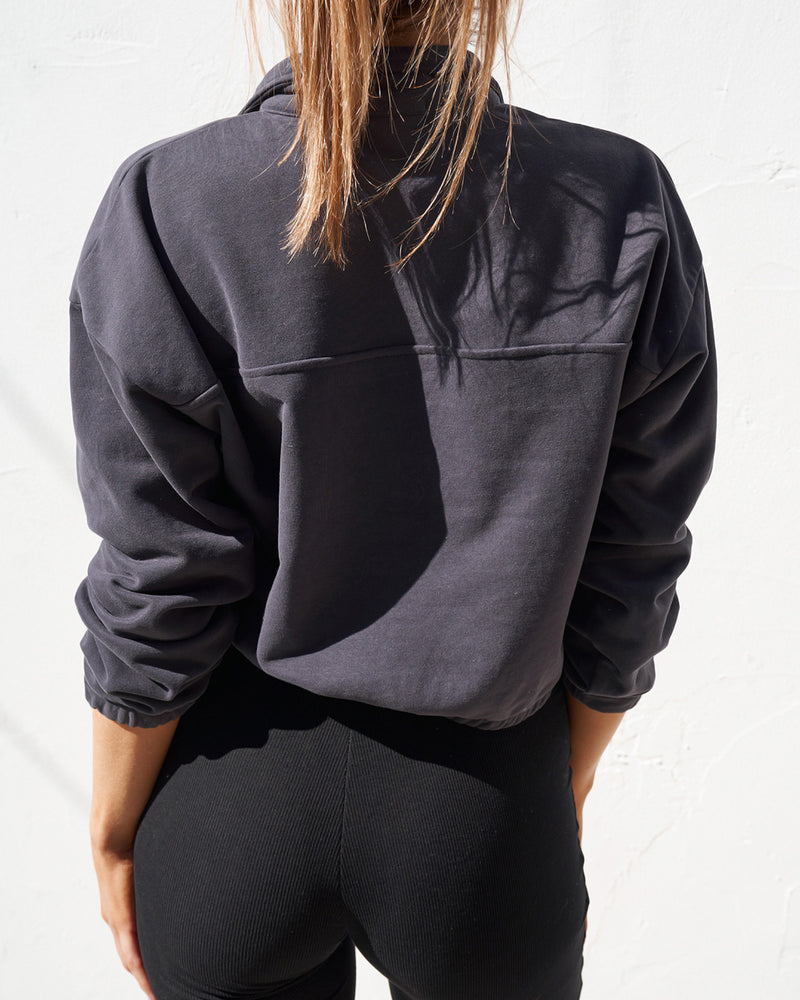 Zip Sweater - Midnight
