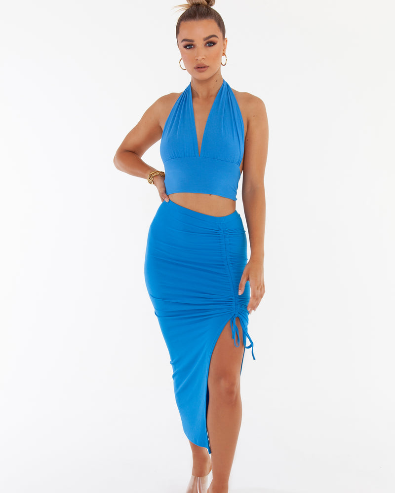 Multi Way Crop - Blue