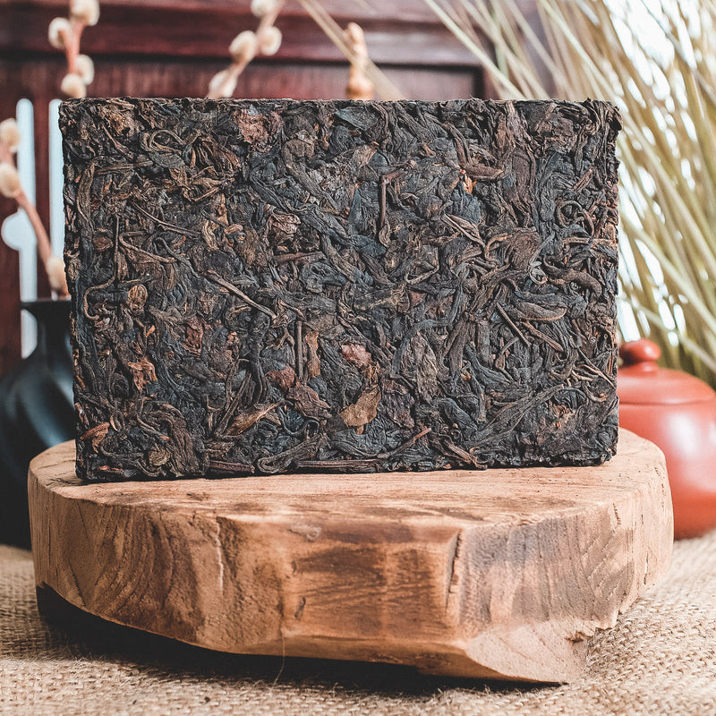1997 Jiang Cheng Raw Pu-erh Tea Brick