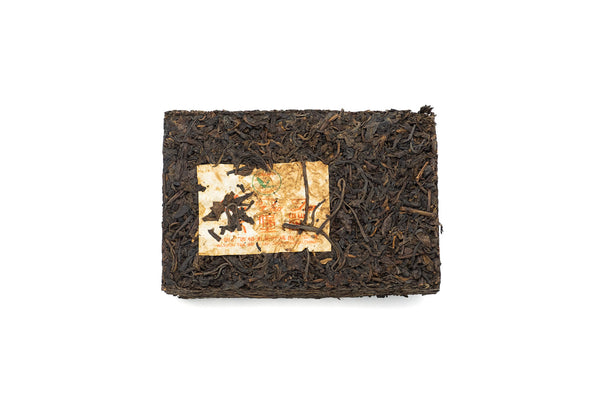 2007 Guangxi, Wuzhou 500g. Liu Bao Raw Tea Brick 5350- Yee On Tea Co.