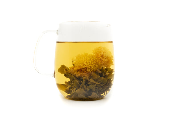 Blooming Big Dragon Eye Jasmine Tea - Yee On Tea Co.