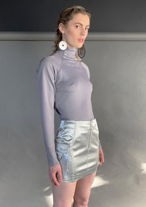 Silver Barrier Skirt