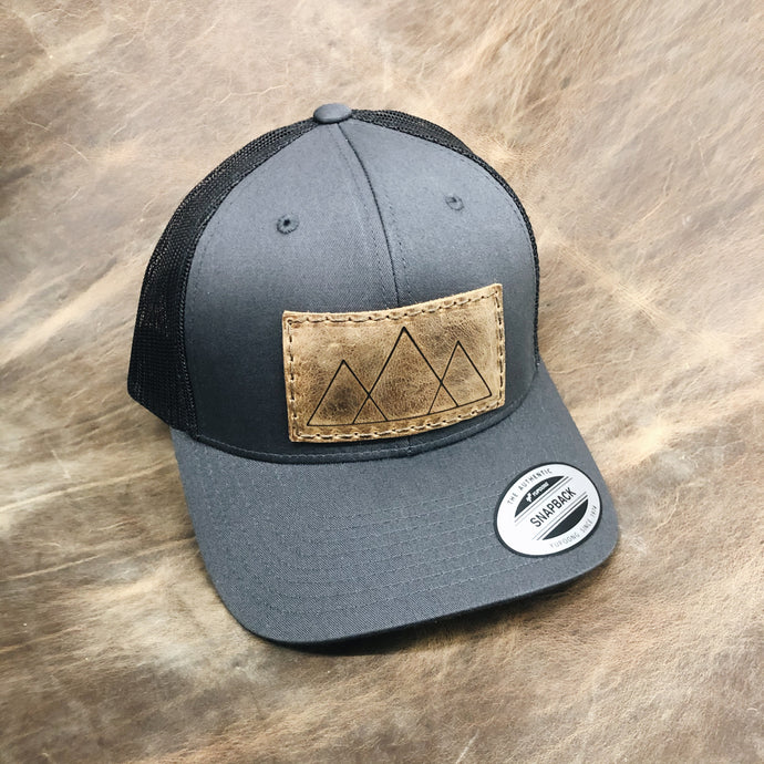 Mountain Patch Trucker Hat - 8 colors