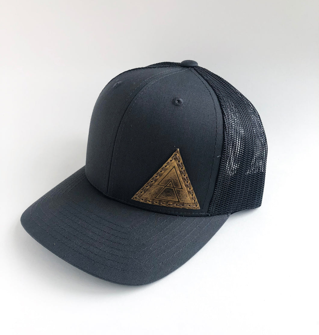 Triangle Patch Trucker Hat