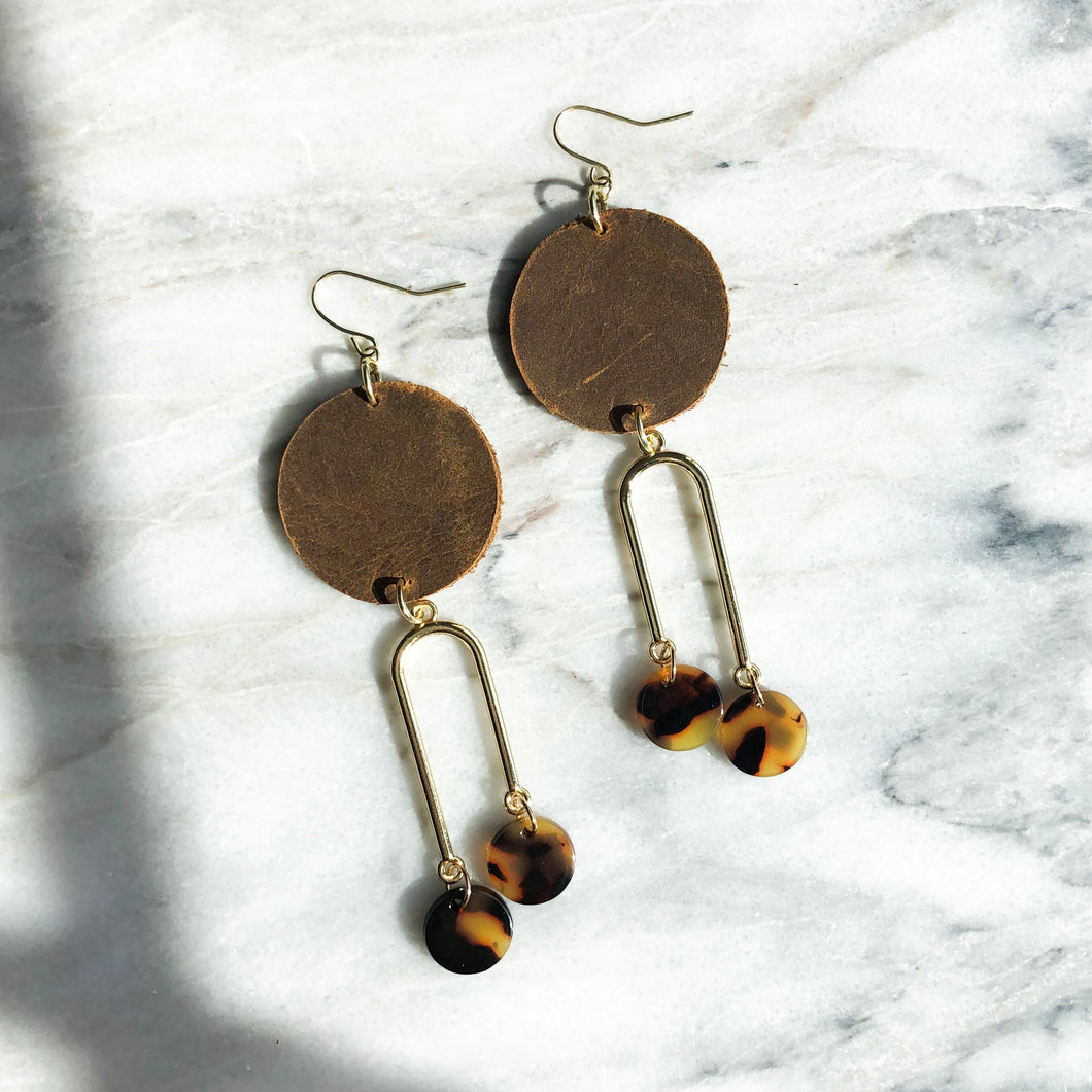 Margo Earring - Brown