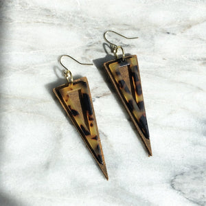 Hannah Earring - Brown
