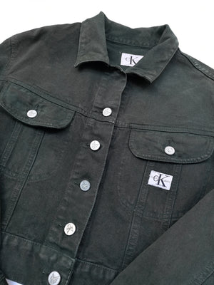 CK Calvin Klein DARK DENIM JACKET