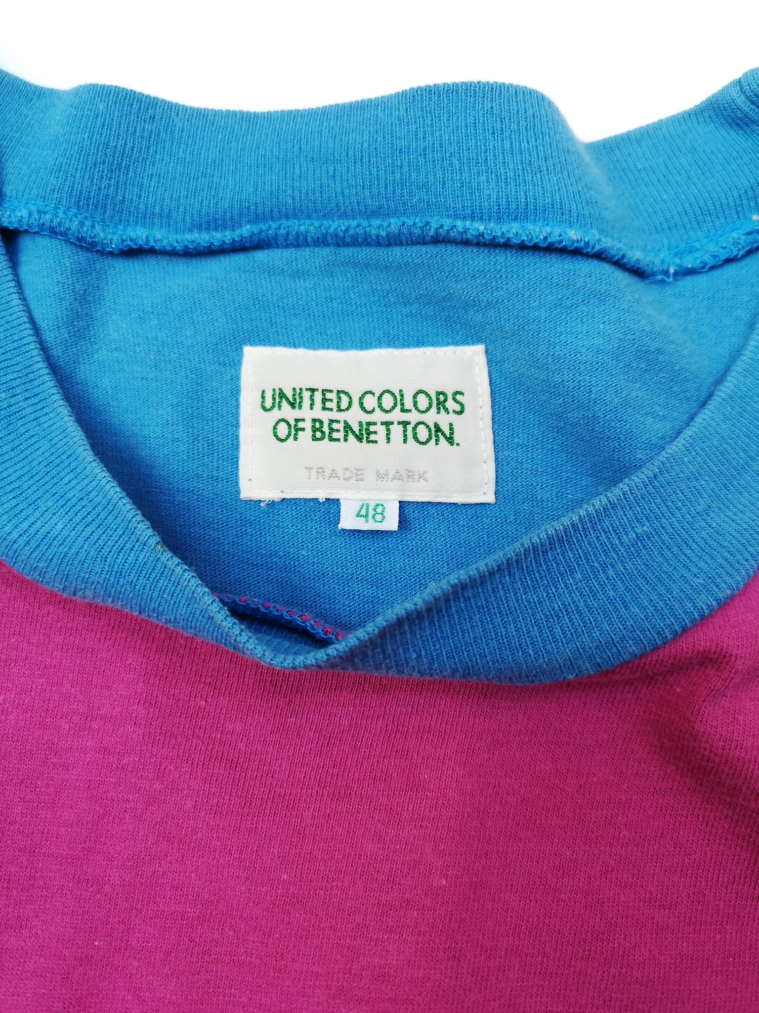 UNITED COLORS OF BENETTON COLOR BLOCK T-SHIRT