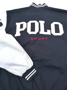 POLO SPORT COTTON STADIUM JACKET