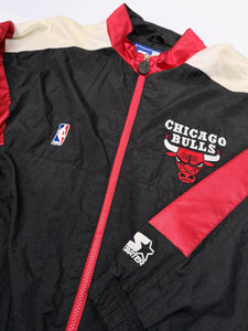 STARTER 90s CHICAGO BULLS NYLON JACKET