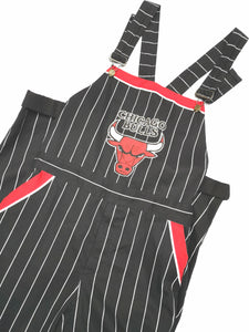 CHICAGO BULLS PINSTRIPED OVERALL