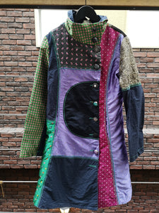 VINTAGE PATCHWORK COAT