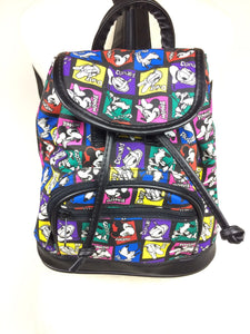 90s DISNEY COLOR BLOCK MINI BACKPACK