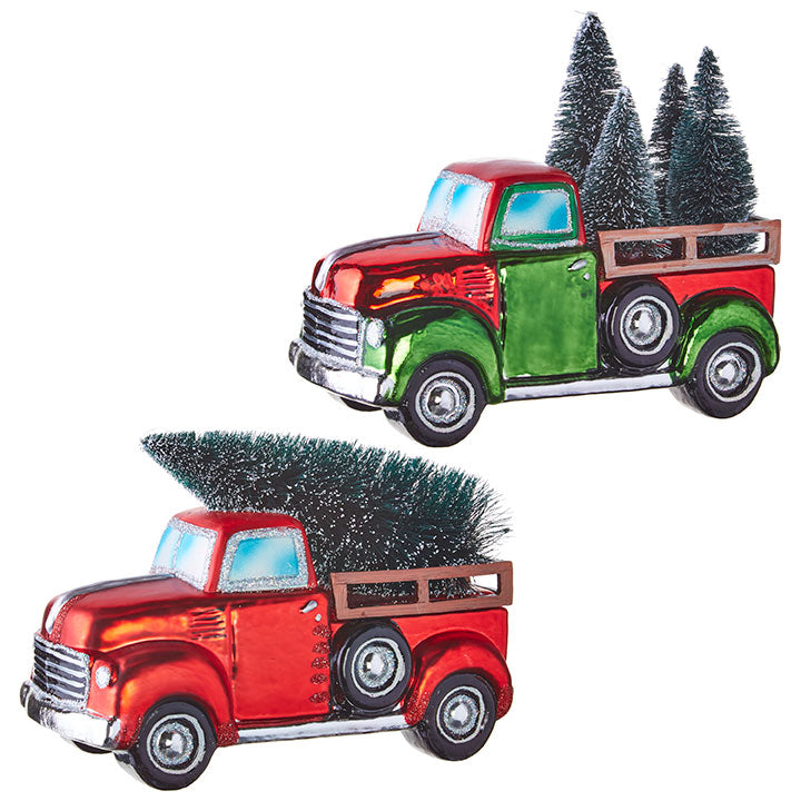 "8"" Truck with Tree"