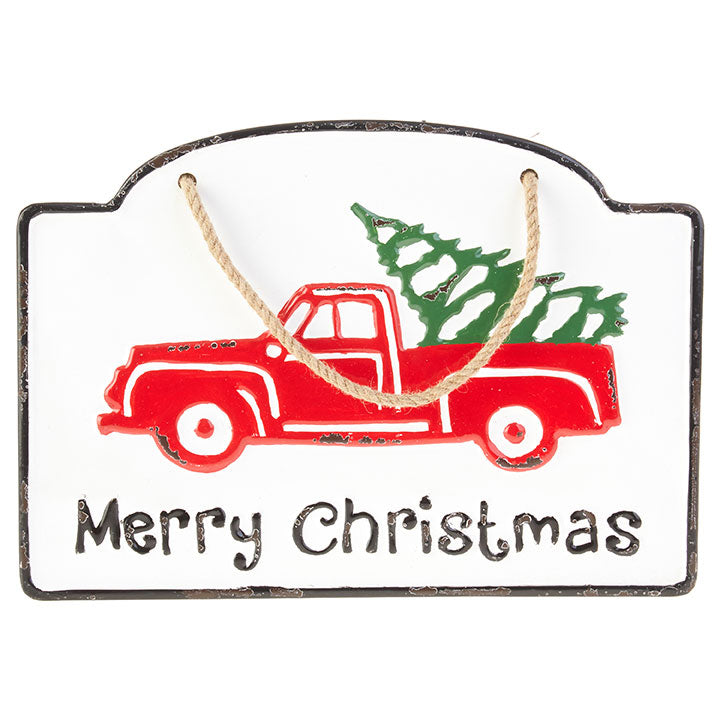 "13.5"" Merry Christmas Sign"