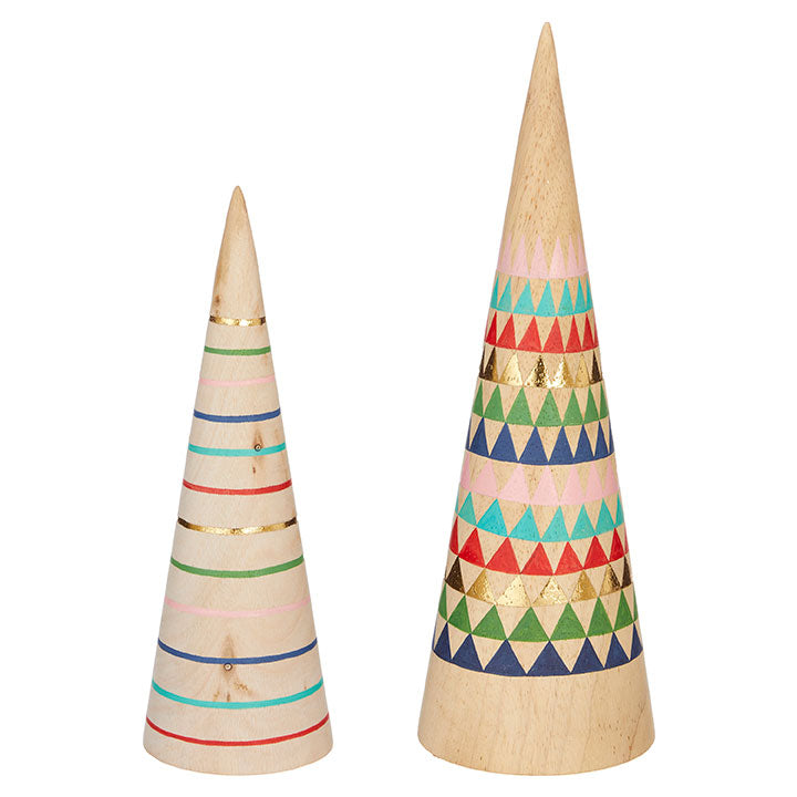Patterned Cone Trees