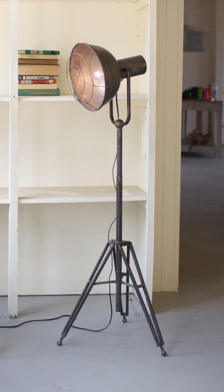 Urban Farmhouse Designs Caged Studio Lamp