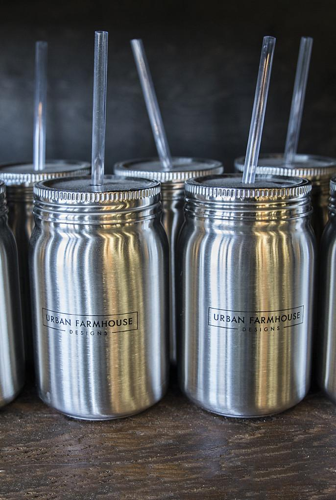 Mason Jar Stainless Steel