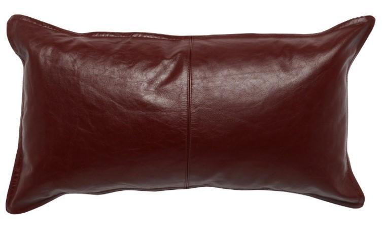 Rectangle Leather Pillows - Set of Two